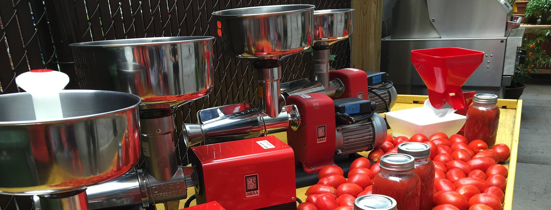 machines a tomates