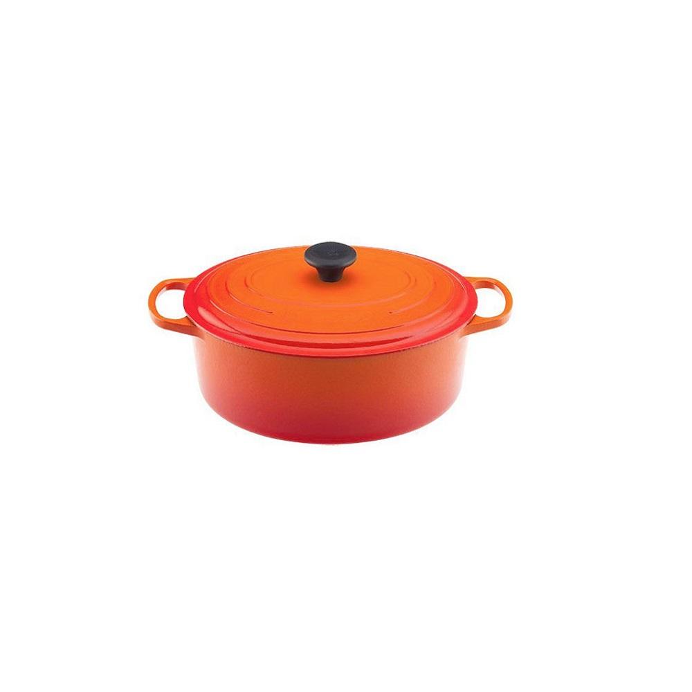 le creuset cocotte ovale en fonte maill e 31 cm 6 3l pour la cuisson quincaillerie dante. Black Bedroom Furniture Sets. Home Design Ideas