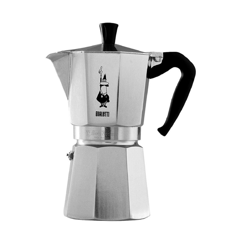 Coffee Maker Moka Express : Bialetti - MOKA EXPRESS Coffee Maker - 6 cups - Coffee and Tea -> Quincaillerie Dante